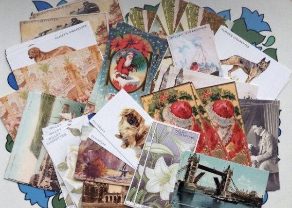 50 Assorted Collectors Cards & Miniature Postcards